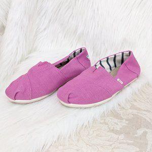 Toms Dark Pink Alpargata